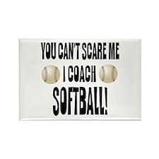 I Coach Softball Rectangle Magnet