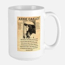 Annie Oakley Large Mug