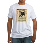 Annie Oakley Fitted T-Shirt