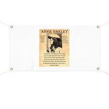 Annie Oakley Banner