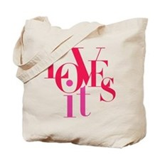 LOVES It! Tote Bag