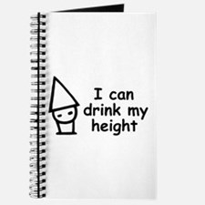 I can drink my height Journal