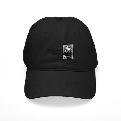 Nietzsche 34 Black Cap