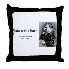 Nietzsche 34 Throw Pillow