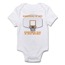 Basketball is Life Infant Bodysuit