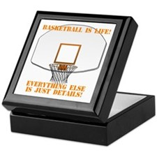 Basketball is Life Keepsake Box