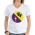 Caid Brewers' Guild Women's V-Neck T-Shirt
