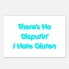 No Disputin' Hate Gluten Postcards (Package of 8)
