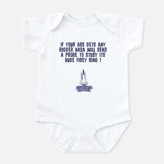 Funny fat sayings Infant Bodysuit