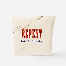 Repent Jewish Tote Bag