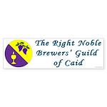 Caid Brewers' Guild Bumper Sticker (10 pk)