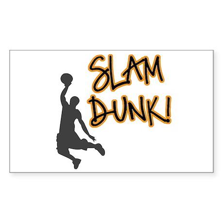 Slam Dunk Rectangle Sticker