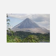 Costa Rica Arenal Rectangle Magnet