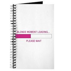 BLONDE MOMENT LOADING... Journal
