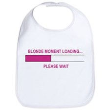 BLONDE MOMENT LOADING... Bib