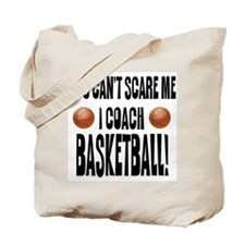 I Coach Basketball Tote Bag
