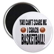 I Coach Basketball Magnet