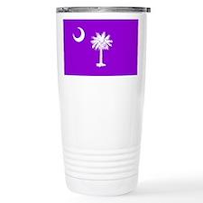 South Carolina Flag Travel Mug