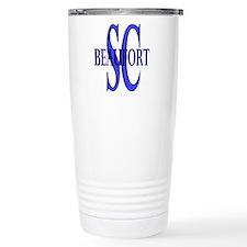 Beaufort South Carolina Travel Mug