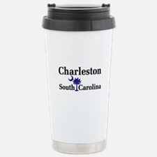 Charleston South Carolina Stainless Steel Travel M