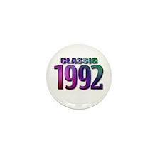 classic 1992 Mini Button (10 pack)
