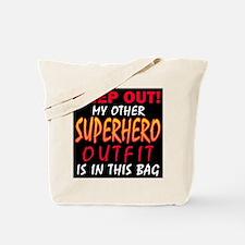 SUPERHERO OUTFIT Tote Bag