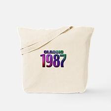 classic 1987 Tote Bag