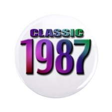 """classic 1987 3.5"""" Button (100 pack)"""