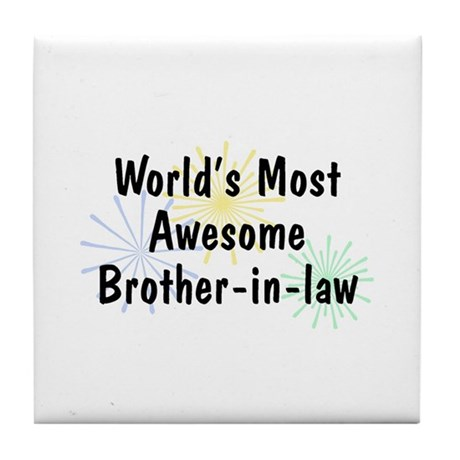 MA Brother-in-law Tile Coaster