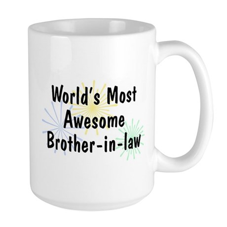 MA Brother-in-law Large Mug