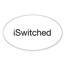 iSwitched Oval Decal