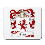 Faure Family Crest Mousepad
