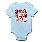 Faure Family Crest Infant Creeper
