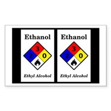 Ethanol Label Sticker (double)