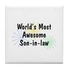 MA Son-in-law Tile Coaster