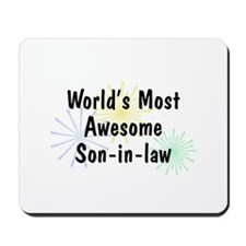 MA Son-in-law Mousepad