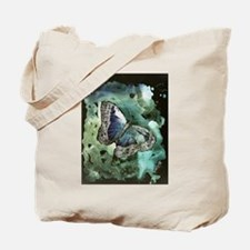 modern abstract butterfly dig Tote Bag