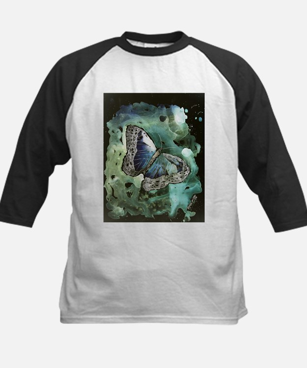 modern abstract butterfly dig Tee