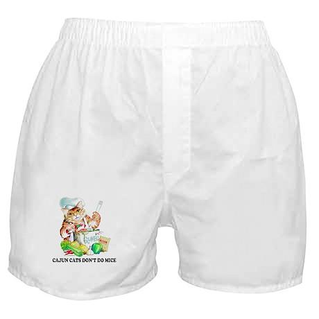 Cajun Cats Don't Do Mice Boxer Shorts