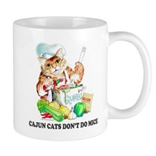 Cajun Cats Don't Do Mice Mug