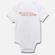 Get Your Stinking Paws off of Infant Bodysuit