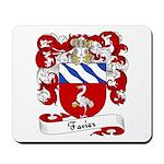 Favier Family Crest Mousepad