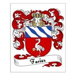 Favier Family Crest Small Poster