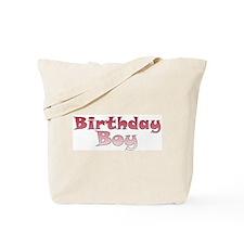 Birthday Boy (red) Tote Bag