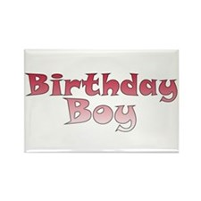 Birthday Boy (red) Rectangle Magnet