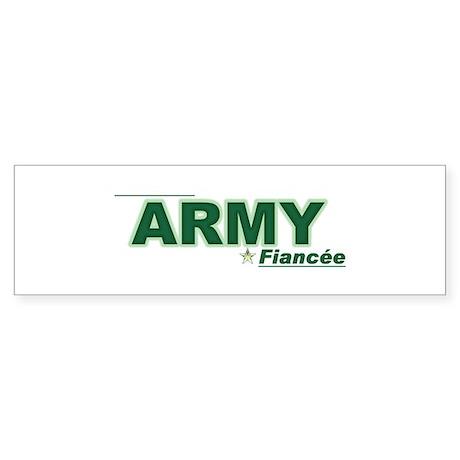 Army Fiancée Bumper Sticker