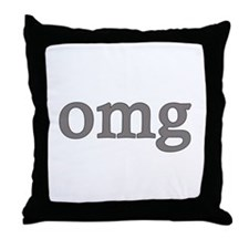 omg Throw Pillow