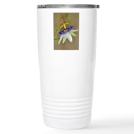 Passion Flower Stainless Steel Travel Mug