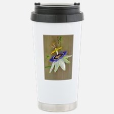Passion Flower Stainless Steel Travel Mug