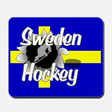 Sweden Hockey Mousepad